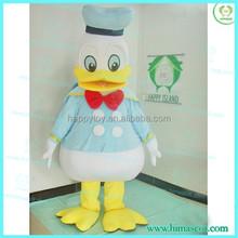 hi ce di alta qualità utilizzato paperino costume mascotte per la vendita