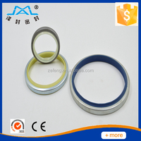 SPCC+PU DKBI Dust seal Hydraulic oil seal manufacture in China