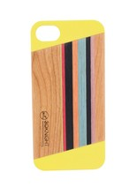 Rainbow Wooden Case For Iphone5 /5s cover