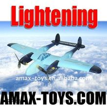 rp-wx8804 rc airplane p-38