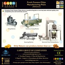 Automatic Equipment for Cassava Crisps Manufacturing From India s94