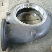 High quality precision heated cast iron material pump body ,pump cover