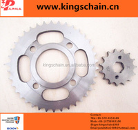 manufacture of motorcycle parts chain sprocket gear for electric motorcycle