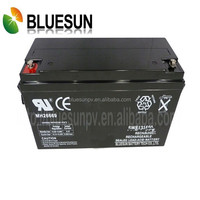 12v 55ah Deep cycle high efficiency ISO CE UL lead acid battery caps