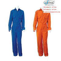 eco friendly Fireproof cotton Coverall red NFPA2112