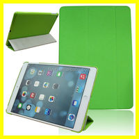Trifold pu leather Case Stand Auto Sleep/Wake for Apple iPad air - Green