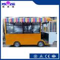 2015 venda quente caminhão de alimentos fast food van/rápida carrinho de comida trailer/comida carrinho com rodas