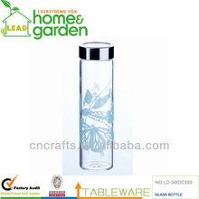 Water Bottle for sale, glass water bottle , Water glass bottle