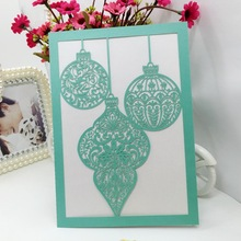 Fashionable hot sell Gree lance Hollow wedding invatation card for new baby,Wedding Greeting cards,Laser Cut Cover greeting card