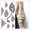 J025-J032R 2015 New arrival brown lace tattoos/J series Promotion online wholesale henna tattoo stickers