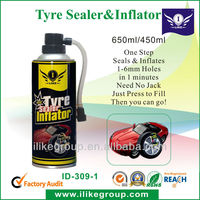 Spray Rubber Sealant, Puncture Sealant (Sealed within several minutes, no need other tools)