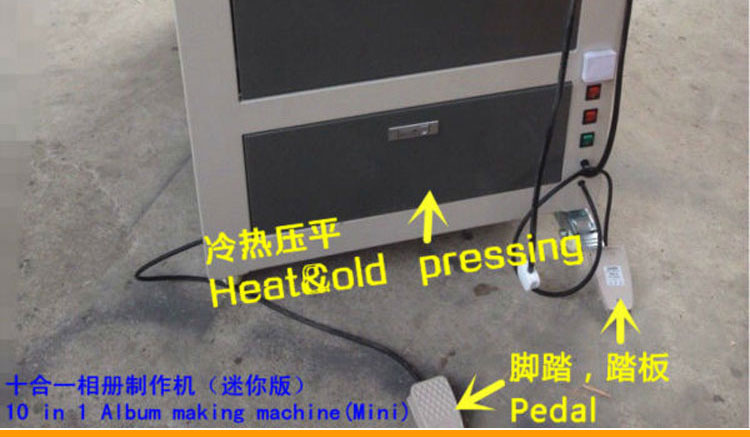 Photo de haute précision machine de reliure d'album