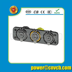 Waterproof USB Charger Adapter Socket 12-24V Power Jack Marine Motorcycle