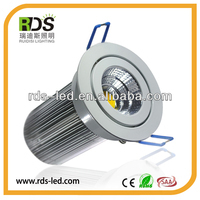Downlight Empotrable COB LED Blanco Caliente 85-265V Luz de Techo downlight Aluminio