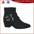 Diseño Nuevo alta calidad botas altas mujer