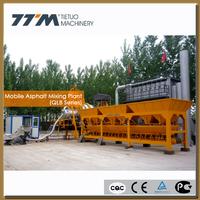 40t/h portable mobile asphalt batching plant,mobile asphalt mixing plant