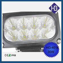 Waterproof IP68 LED Driving Fog Head Lamp Spot Work Light 9V-32V led offroad driving light
