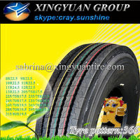 annaite and amberstone brand truck tires miami 12r22.5