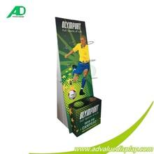 Basketball hook soccer ball display stand