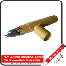 Recycled Paper Tube for Pen Packaging
