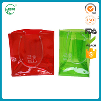 whosale plastic wine tote cooler bag with liquor