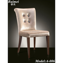 A-006 European style hot sale fabric dining chairs wholesale