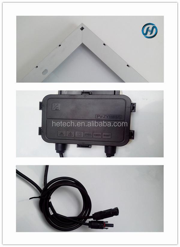 Polycrystalline 305w stock photovoltaic panel