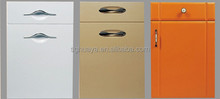 PVC cabinet door and drawer front made in PVC faced MDF board