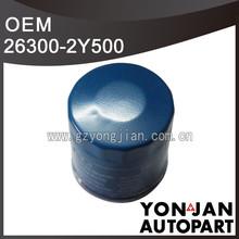 Genuine car oil filter 26300-2Y500 Hyundai filter for oil
