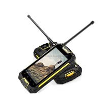 Snopow M8 IP68 4G-LTE full networks android 5.1 OTG NFC RFID wireless charge walkie talkie zoom lens for mobile phone