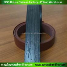 woodgrain color furniture pvc edge banding