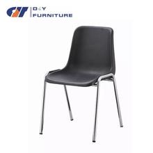 Precio bajo negro de comedor sillas de plástico