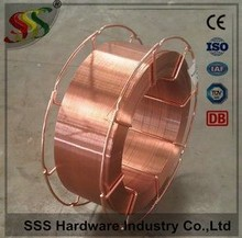 Factory Manufacturer(ISO,ABS,CE approved)! CO2 welding wire & mig welding wire ER70S-6