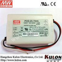 MEAN WELL 25W 350mA Constant Current AC Dimmable with PFC,UL,CE,CB LED Driver, Power Supply