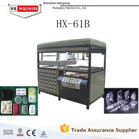 2015 Top Sale HX-61B Manual Vacuum Forming Machine For APET,PETG,GAG, PS,PP, PVC