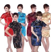 Brand new stock wholesale Chinese slim cheongsam dress