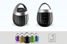 Mini Portable Subwoofer Wireless Bluetooth Speaker Boombox wirelessly via Bluetooth or wired via 3.5mm audio cable