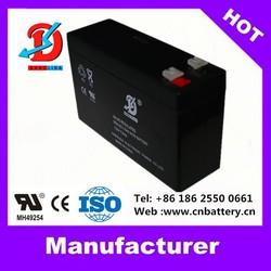 12v Volt battery 2015 widely used deep cycle lead acid ups battery 12v 7ah