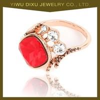 2015 latest fashion new design saudi gold rings jewelry for women wholesale in china yiwu market