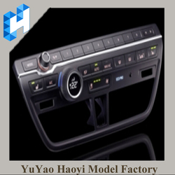 Auto Rearview Mirror/Shift Knob/Center Stack/Cup Holder/Steering Wheel Buttons CNC Machining