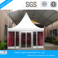 with Waterproof & Flame Retardent PVC Fabric outdoor Wedding Canopies tent