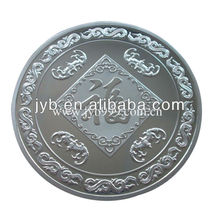 Silver Plated Coin for Souvenir-Chinese Fortune Design