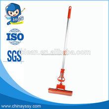 2015 nuevo smart steam mop de doble rodillo de pva fregona/esponja fregona hecho en china
