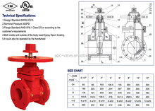 200PSI-NRS Type Grooved End Gate Valve