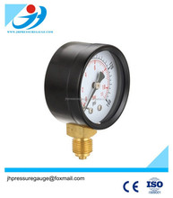 bourdon type pressure gauge