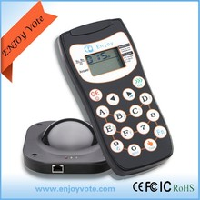 clickers for the conference voting and training with LCD display