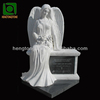 White Marble Tombstone with Angel,Marble Headstone