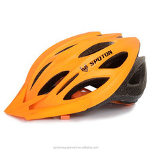 cool man and women road riding mountain bike helmet with different colors
