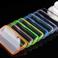 Back Cover Clear Double Color Style for iphone 6 TPU + Acrylic Case 4.7 inch