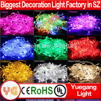CE ROHS approved 30m 300leds low voltage outdoor waterproof IP44-65 multiple color led christmas light